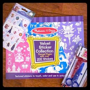 Melissa & Doug stickers, and more